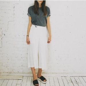 DANCE & MARVEL white culottes